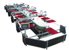 Automatic Oval Screen Printing Machine