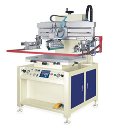 Pneumatic Flat Vertical Screen Printing Machine