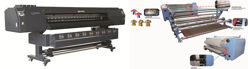 Sublimation printer & Sublimation print transfer machine